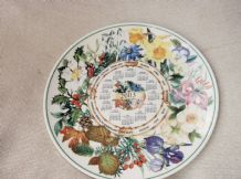 COLLECTABLE DISPLAY PLATE WEDGWOOD CALENDAR 2003 QUEENS WARE EX COND 9""